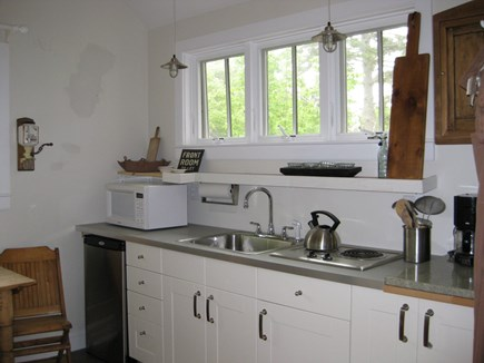 Truro Center Cape Cod vacation rental - Bright kitchen area
