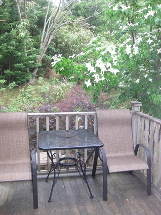 Truro Center Cape Cod vacation rental - Outdoor deck for alfresco dining
