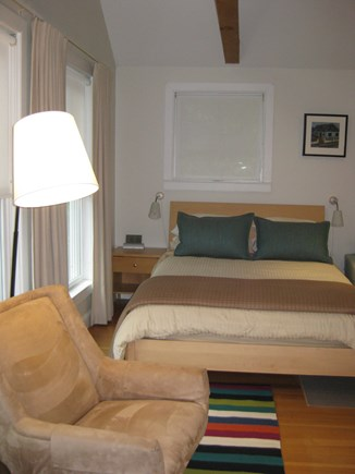 Truro Center Cape Cod vacation rental - Queen size bed with  linens, pillows and comforter