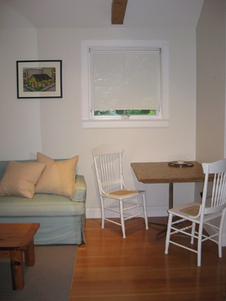 Truro Center Cape Cod vacation rental - Cozy Eating area for 2