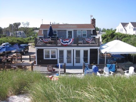 Dennis Cape Cod vacation rental - Seating upstairs, downstairs and under for outdoor relaxation!