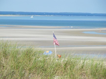 Dennis Cape Cod vacation rental - white sandy beach w/crystal clear water entices you for a swim!
