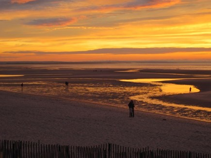 Dennis Cape Cod vacation rental - Low tide sunsets-- amazing!