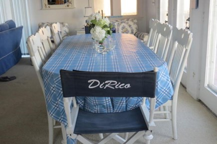 Dennis Cape Cod vacation rental - Dining area with seating for 8.