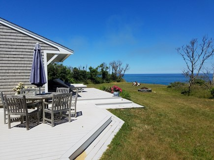 Eastham Cape Cod vacation rental - Deck with ocean view