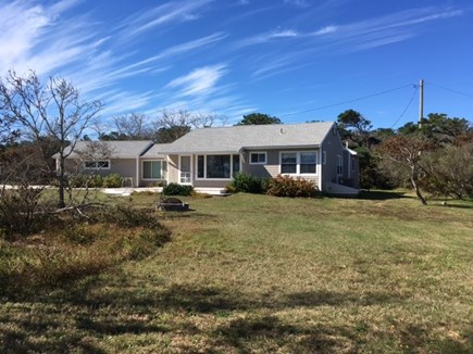 Eastham Cape Cod vacation rental - Exterior View from the bluff
