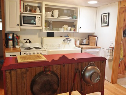 Brewster Cape Cod vacation rental - Kitchen with dishwasher, oven (fridge to the right)