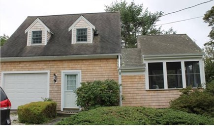 South Chatham Cape Cod vacation rental - Front of the house with screened porch