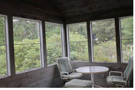 South Chatham Cape Cod vacation rental - Screened Porch