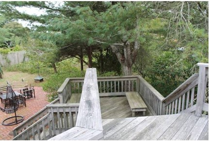 South Chatham Cape Cod vacation rental - Outside Porch