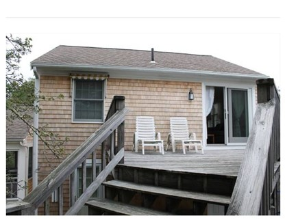 South Chatham Cape Cod vacation rental - Back of the house