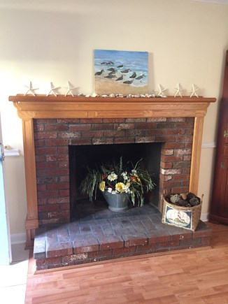 Harwich Cape Cod vacation rental - You probably won't need the fireplace during your summer stay!