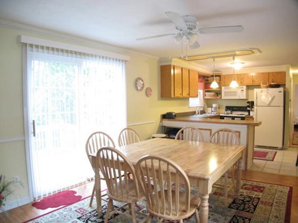 Harwich Cape Cod vacation rental - Nice open space for family meals.