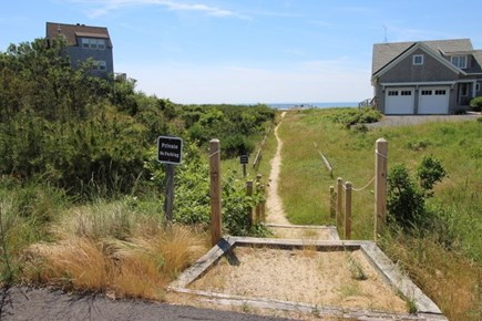 Truro Cape Cod vacation rental - Corn Hill Landing Path To The Beach