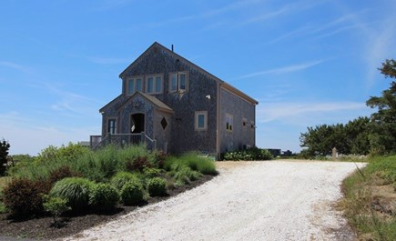 Truro Cape Cod vacation rental - Exterior from driveway