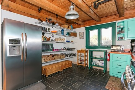 Truro Cape Cod vacation rental - Kitchen with updated appliances