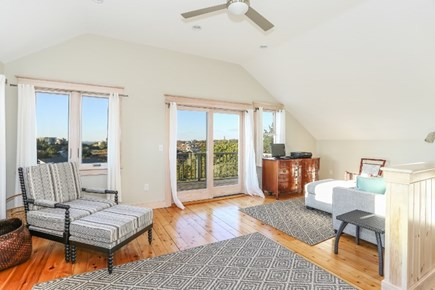 Truro Cape Cod vacation rental - Sitting area in master suite