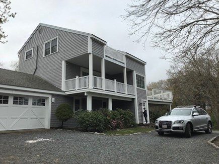 Dennis Cape Cod vacation rental - Front view of home