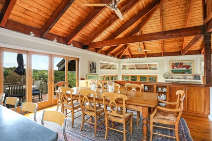 TRURO Cape Cod vacation rental - Dining to Living Room