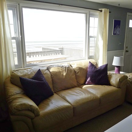 Eastham Cape Cod vacation rental - View from the living room