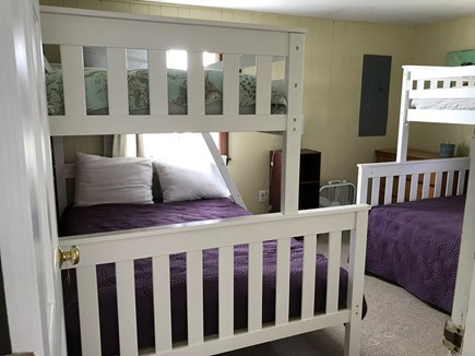 Eastham Cape Cod vacation rental - New twin over full bunk beds