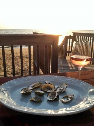 Eastham Cape Cod vacation rental - Relax and enjoy the deck and the view