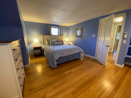 Brewster Cape Cod vacation rental - Bedroom #3: Second Floor - spacious room with Queen-size bed