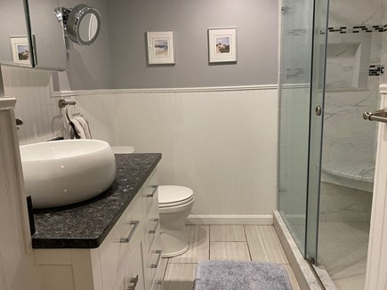 Brewster Cape Cod vacation rental - Newly renovated 1st floor bathroom with walk-in shower