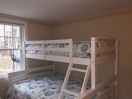 Harwich Port Cape Cod vacation rental - 3rd Bedroom twin over full bunk