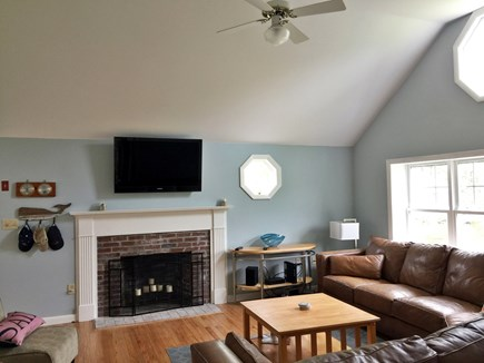 Harwich Port Cape Cod vacation rental - Vaulted Living Room