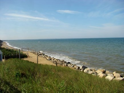 Eastham Cape Cod vacation rental - Campground Beach to the left