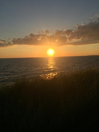 Eastham Cape Cod vacation rental - High tide sunset