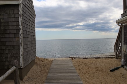 Truro Cape Cod vacation rental - Your deeded beach access is just down this boardwalk
