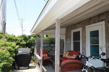 Truro Cape Cod vacation rental - Front Porch