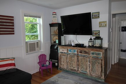Truro Cape Cod vacation rental - Flat screen TV and Air Conditioning