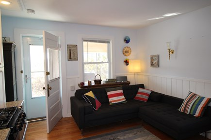 Truro Cape Cod vacation rental - Comfy couch!