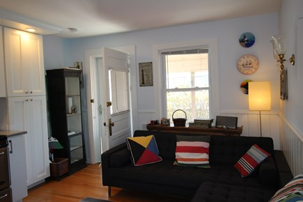 Truro Cape Cod vacation rental - Living Room with door to front porch