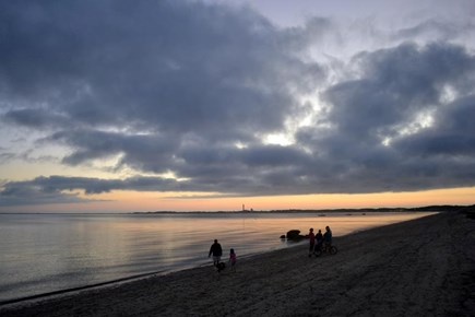 Truro Cape Cod vacation rental - Sunset over Provincetown