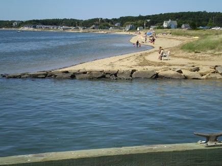 Wellfleet Cape Cod vacation rental - View of Mayo Beach (no beach sticker required)
