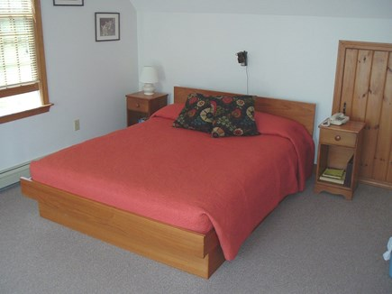Wellfleet Cape Cod vacation rental - Master bedroom features Queen size bed