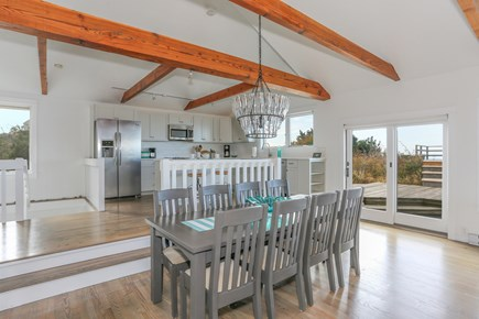 Truro Cape Cod vacation rental - Eating area