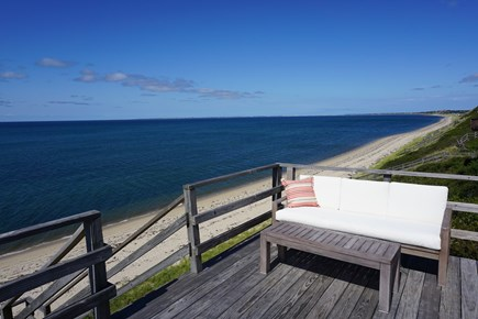 Truro Cape Cod vacation rental - Landing and beach staircase