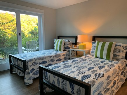Truro Cape Cod vacation rental - Twin beds on the lower level