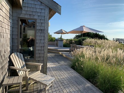 Truro Cape Cod vacation rental - Side view from the master bedroom