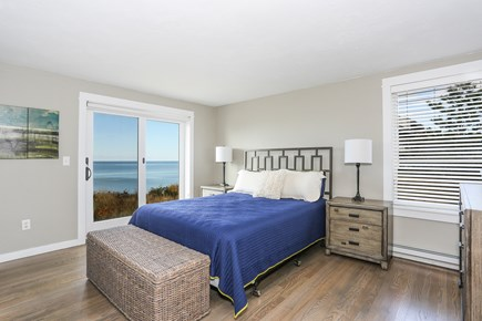 Truro Cape Cod vacation rental - Ocean Room is the 1st floor master/en suite and private deck.