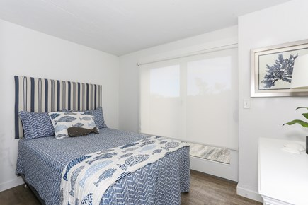 Truro Cape Cod vacation rental - Blue Whale Room with double bed & private deck on lower level