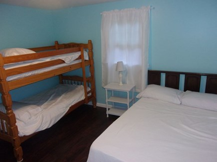 Eastham Cape Cod vacation rental - Bunk Room with twin bunks and  a full size bed