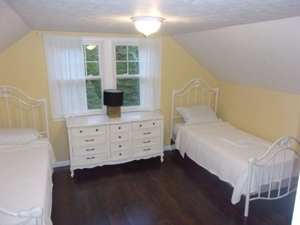 Eastham Cape Cod vacation rental - Upstairs bedroom #1 complete with two twin beds, dresser & closet