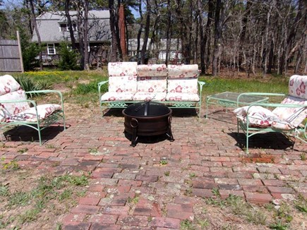 Eastham Cape Cod vacation rental - Fire Pit and outdoor seating area