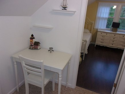 Eastham Cape Cod vacation rental - Office area with a nice desk and chair